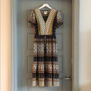 Anthropologie One September Midi Dress